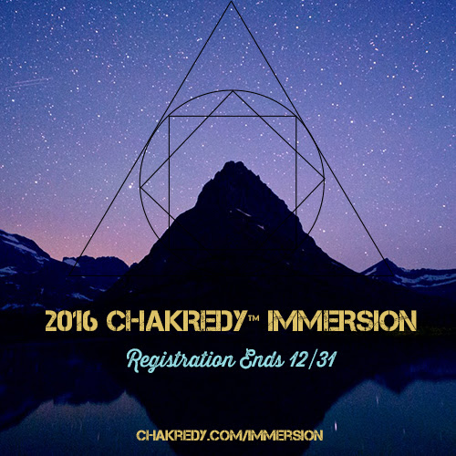 Chakredy Immersion 2016